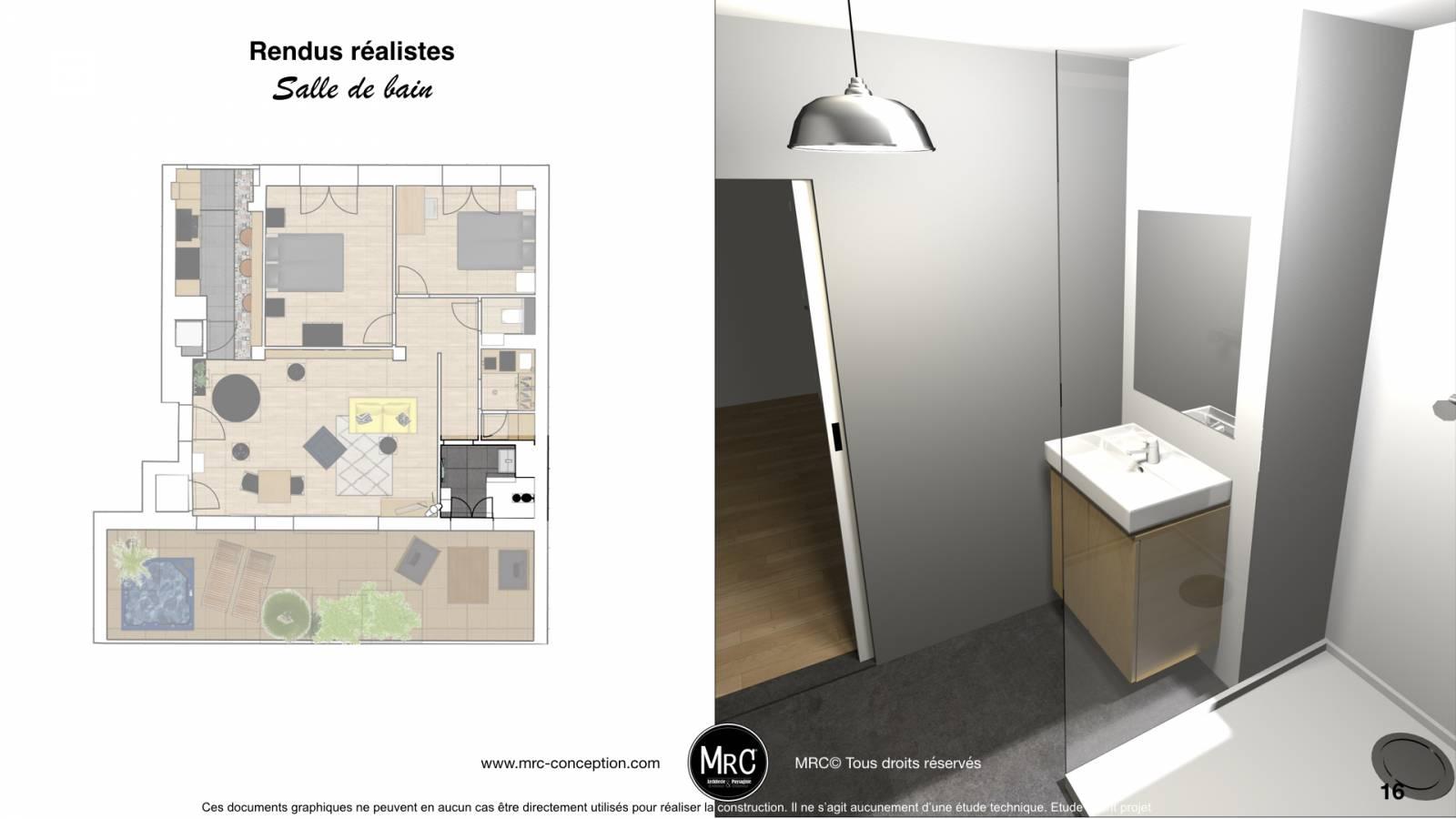 ... Projet De Rénovation Du0027appartement Et Décoration Dans Le Centre Ville  De Marseille 13001, ...