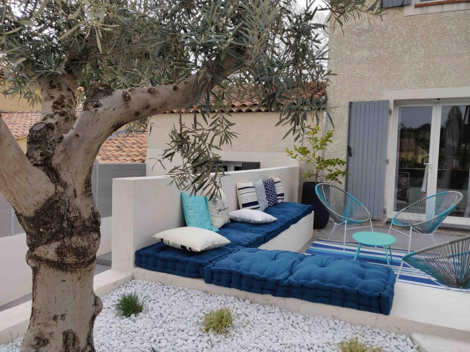 Projet de rénovation extérieur avec aménagement de terrasse ...
