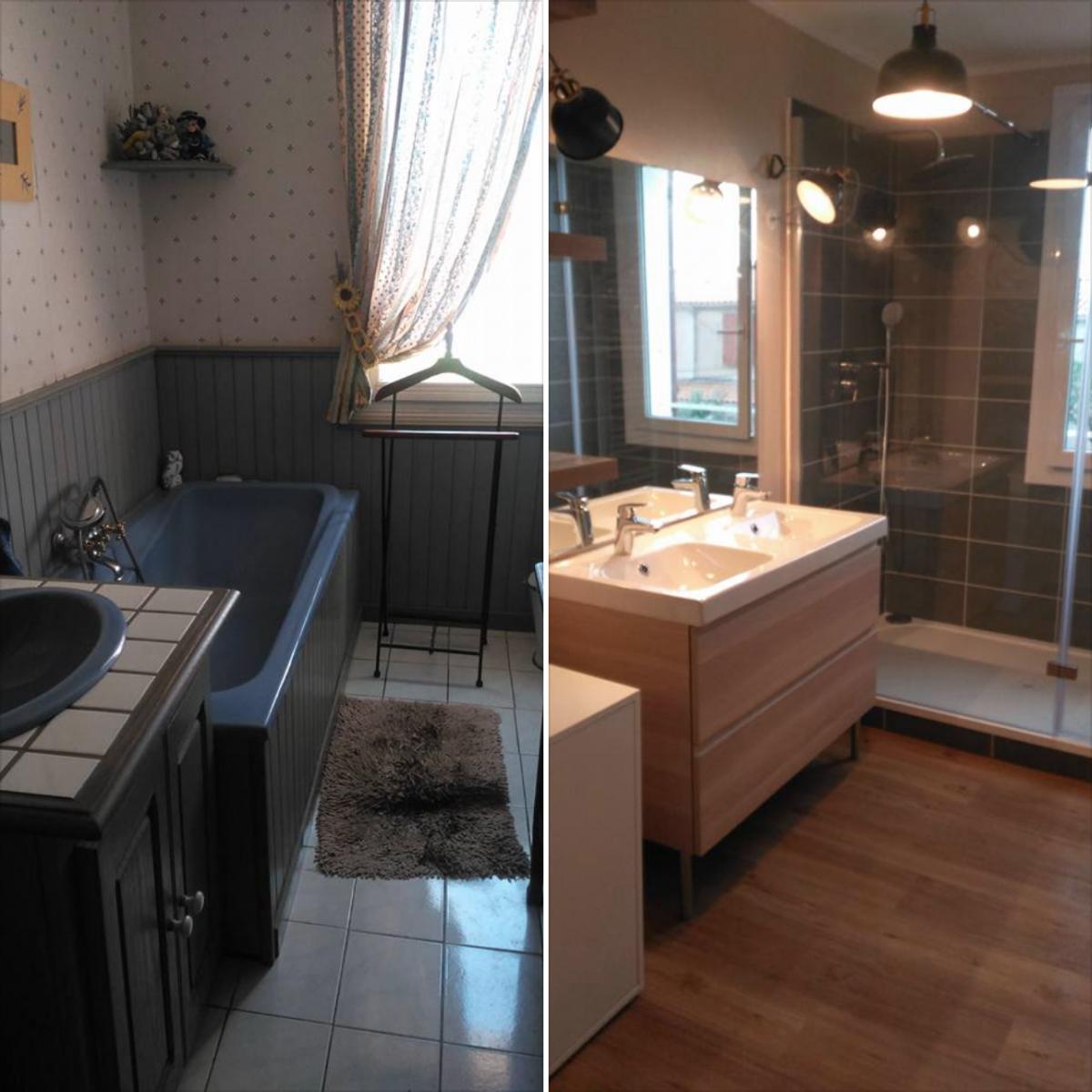 architecte intérieur rénovation salle de bains dans une ...