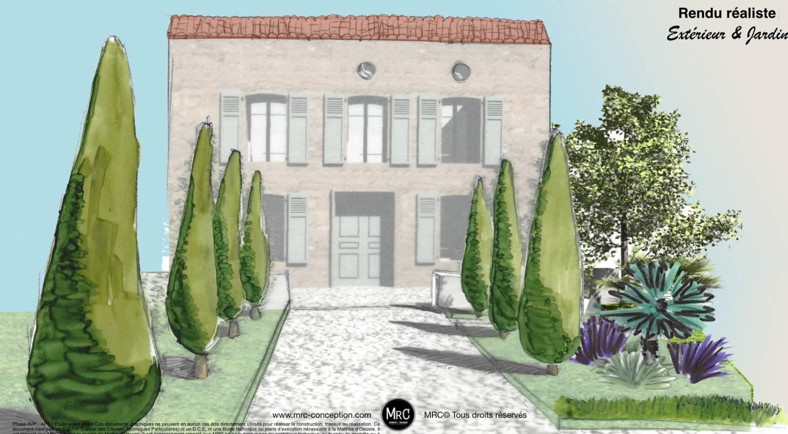 Amenagement Jardin Exterieur Photo conception et aménagement de jardin et extérieur avec des