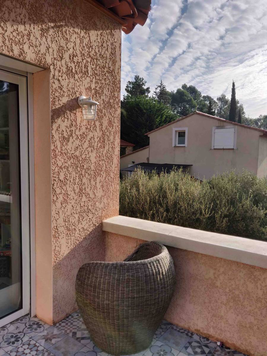 Amenagement Exterieur Terrasse Maison aménagement de l'extérieur de maison sur allauch, pour